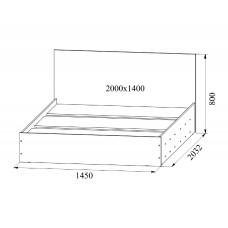 """Кровать """"Ронда"""" 1,4м"""