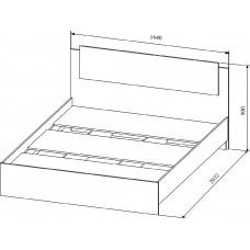 """Кровать 1.6 """"Софи"""""""
