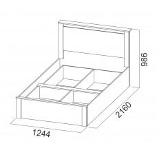 """Кровать 1.2м """"Гамма 20"""""""