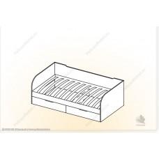 """Кровать с ящ. """"Забава"""" КЯ"""